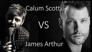 Gambar cover Calum Scott vs James Arthur - When We Were Young (Adele Cover)