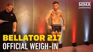 Bellator 217 Official Weigh-In Highlights - MMA Fighting