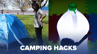 Clever Camping Hacks