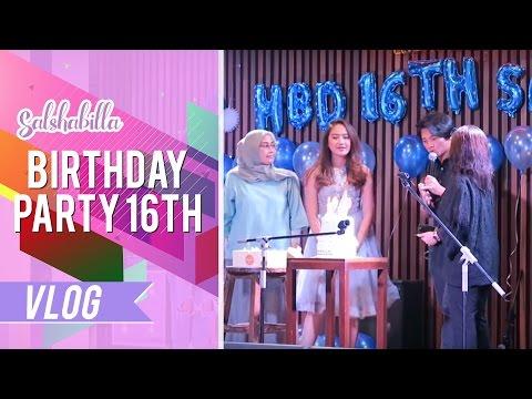 Salshabilla #VLOG - SURPRISE BIRTHDAY PARTY