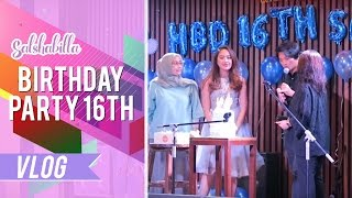 Salshabilla #VLOG - SURPRISE BIRTHDAY PARTY