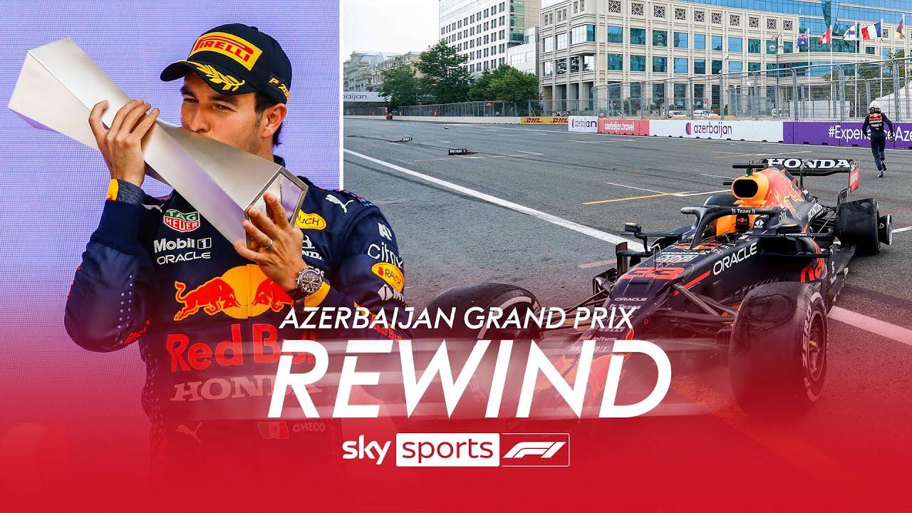 The Azerbaijan Grand Prix Weekend Rewind! ⏪  | Pérez on top, magic brake buttons and tyre failures!