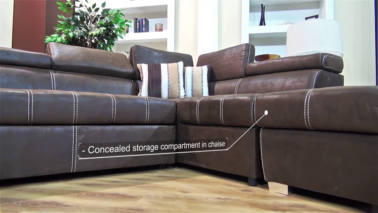 delightful Corner Sleeper Sofa Part - 4: Dallas Corner Sleeper Couch - YouTube