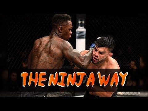 Israel Adesanya vs Kelvin Gastelum - The Ninja Way