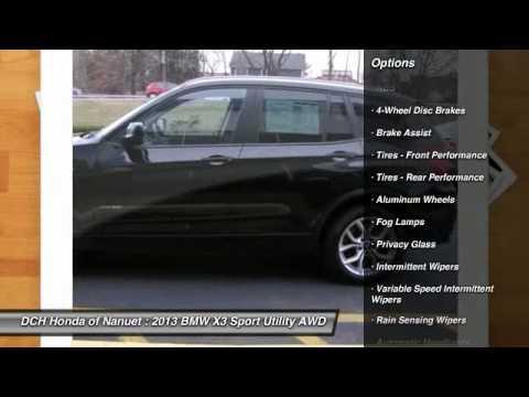 2013 bmw x3 nanuet ny hn5s049a youtube for Honda nanuet ny