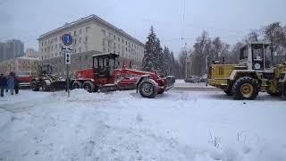 Выдвижение Навального в Самаре,или восстание машин в зимний период 24.12.17