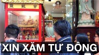 Trên tay máy xin xăm tự động tại Việt Nam: 15 giây/quẻ