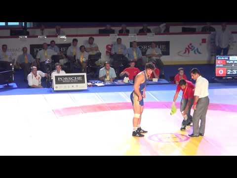 Jr World FS - Gogaev (RUS) Dec. Zeybek (TUR), 96 Kg Finals