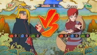 Naruto Shippuden Ultimate Ninja Storm 3 Gameplay #2 Deidara Vs Gaara