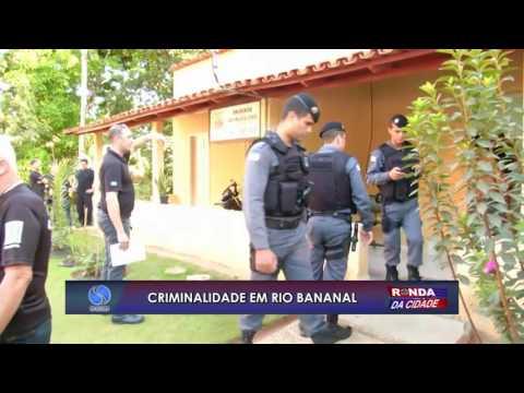 Criminalidade em Rio Bananal - Walter Barcelos