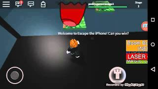 Roblox escaping from cell phone