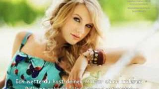 taylor swift - christmases when you were mine (deutsch)