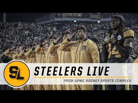 LeVeon Bell Update, AFC Standings & Salute to Service | Steelers Live