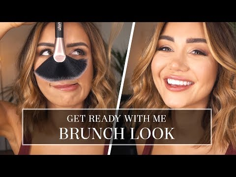 GRWM - GET READY WITH ME - BRUNCH DAYTIME LOOK