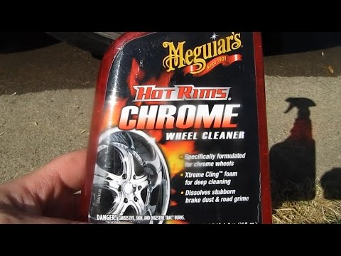 Review for Meguiars Hot Rims Chrome wheel Cleaner