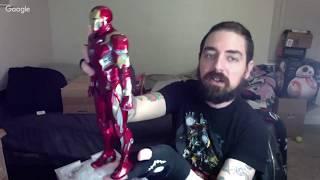 Captain America Civil War Hot Toys Mark XLVI Iron Man Unboxing!