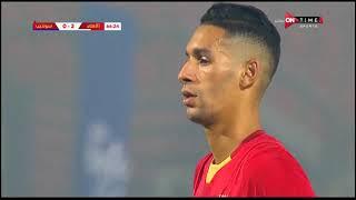 بدر بانون يسجل أول أهدافه مع الأهلي والثالث للأهلي في المباراة