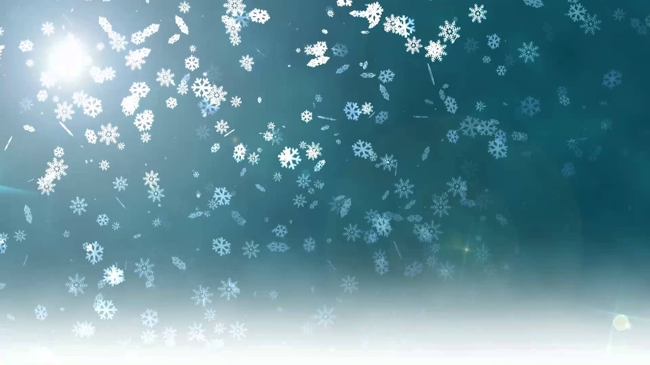 Live Snow Falling Wallpaper For Desktop Christmas Snowflakes Daylight Free Footage Stock