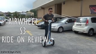 AirWheel S3 Ride On Review: Effortless Learning, Safer Ride