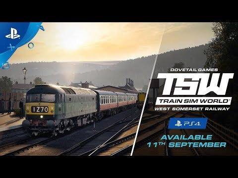 Train Sim World: West Somerset Railway - Coming Soon Trailer | PS4