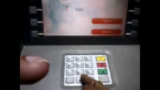 How to withdraw Cash from ATM Video