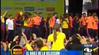 Ras Tas Tas El baile de la selección Colombiana
