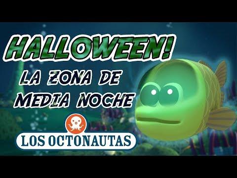 Los Octonautas Oficial en Español -  Compilación Especial De Halloween | Zona De Media Noche