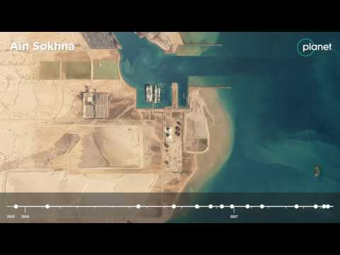 From Space: A Look at Egypt's Ain Sokhna Oil Terminal