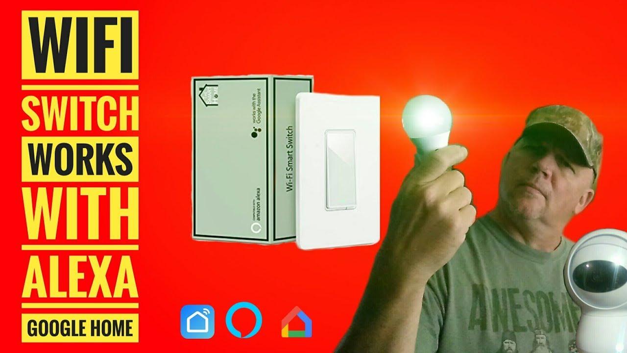 Wifi Switch by Martin Jerry works with Alex google Home Smart Life APP
