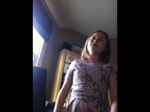 My rubbish singing