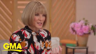 Anna Wintour dishes on what to expect from the 2021 Met Gala l GMA