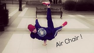 How To Breakdance - Tutorial Air Chair