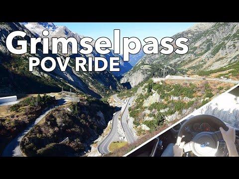 UEL BRZ POV Ride @ Grimselpass, Switzerland