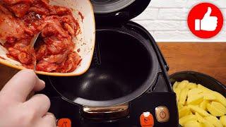 Минутный обед или ужин Курица с картошкой в мультиварке Все смешал и два блюда в мультиварку