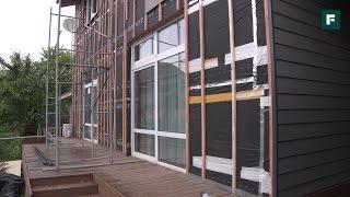 Реновация фасада с помощью фиброцементного сайдинга // FORUMHOUSE(При облицовке фасада своего дома абсолютно все застройщики надеются, что фасад будет радовать их своим..., 2016-07-12T10:54:31.000Z)