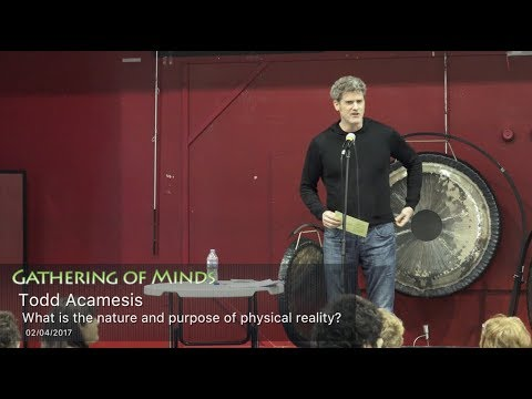 What is the nature and purpose of physical reality? Todd Acamesis @ Gathering of Minds