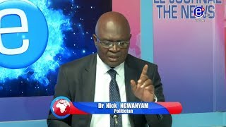 THE 6PM NEWS(Guest: Dr Nick NGWANYAM) WEDNESDAY 6th NOVEMBRE 2019 - EQUINOXE TV