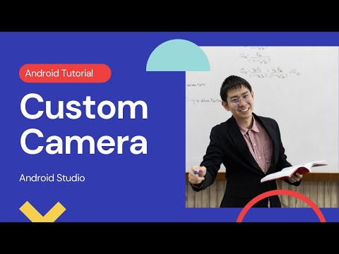 Android Custom Camera App using SurfaceView Tutorial Android Studio