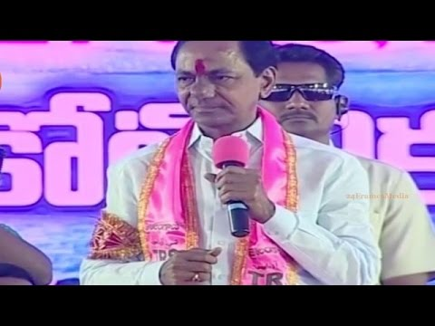 Telangana CM KCR Exclusive Speech at TRS Party 15th Plenary in Khammam