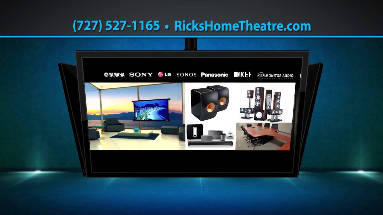 Ricks Home Theatre Store St Peterburg Fl Audio And Video Youtube Design Automation Pre Wiring Retrof