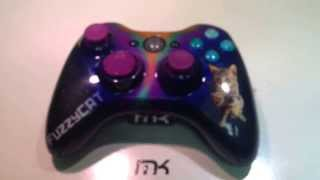 Space kitty xbox 360 controller!!
