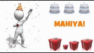 HAPPY BIRTHDAY MAHIYA!