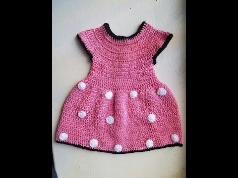 Vestidos de minnie mouse en crochet
