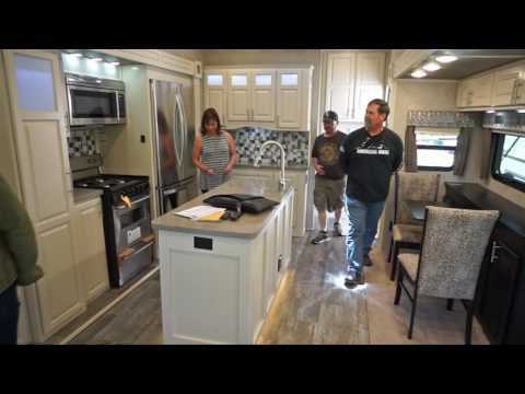 Ambition Luxury fifth wheel Customer First Look - Olivier