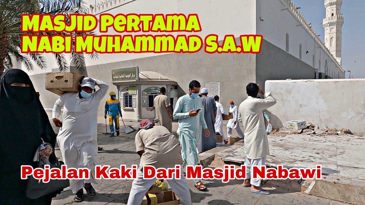 Download Perubahan Masjid Quba Madina Yang Terkini !!!! Pejalan Kaki Sampai Ke Masjid Nabawi