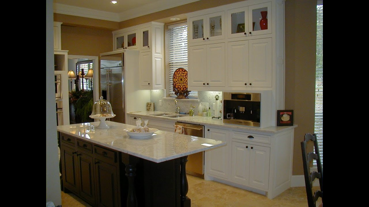 kitchen island cabinets - youtube