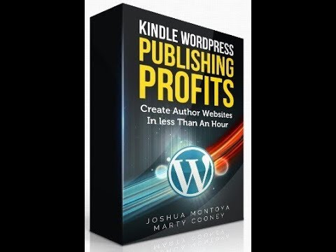 how to make $5000+ per month from creating simple Kindle author websites in under an hour -Kindle
