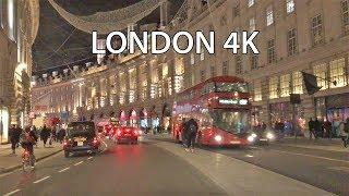 London 4K - Night Drive