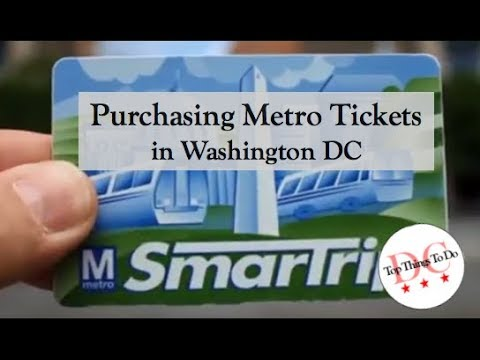 How to Use the Washington DC Metro Subway | Free Tours by Foot