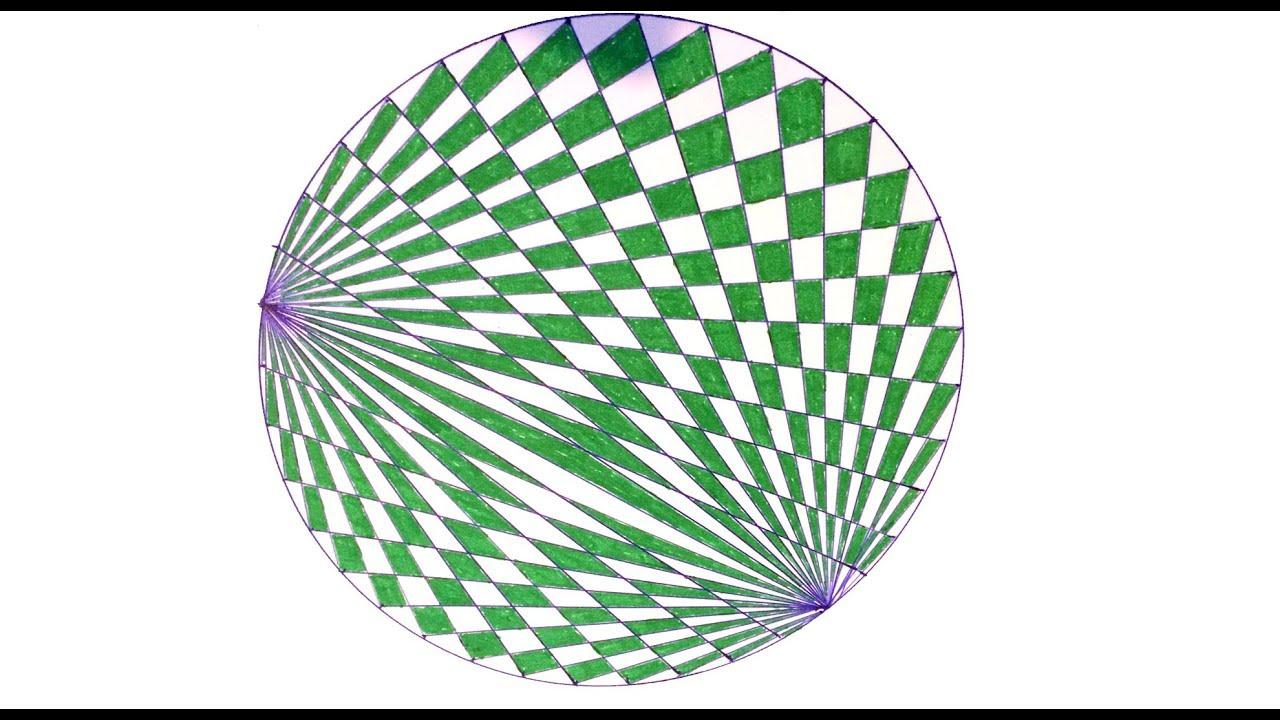 Tuto Facile Dessin Geometrique Circulaire Youtube